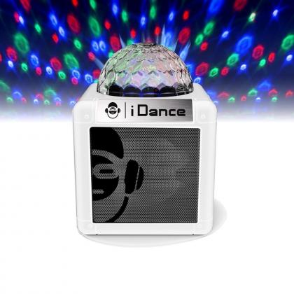 iDance Speakers Cube Nano CN-2 White