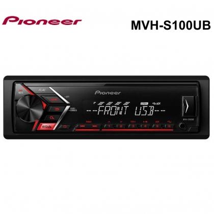 PIONEER MVH-S100UB + carholder