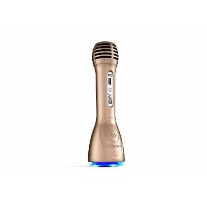 iDance Speakers Party Mic PM-6 Gold