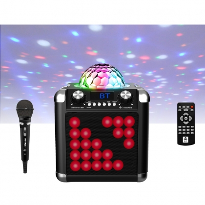 iDance Speakers Disco Cube BC100L