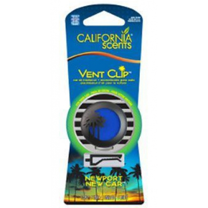 CALIFORNIA SCENTS Vent Clip Newport New Car