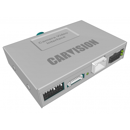 CARVISION Uconnect 7 inch LVDS Camera Video interface