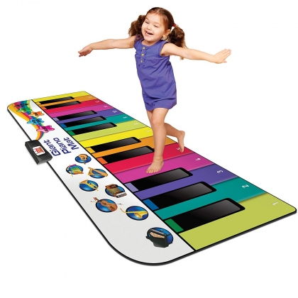 Rainbow Colours Giant Piano Mat